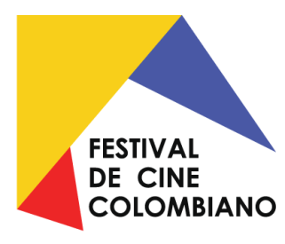 Logo Festival de cine colombiano